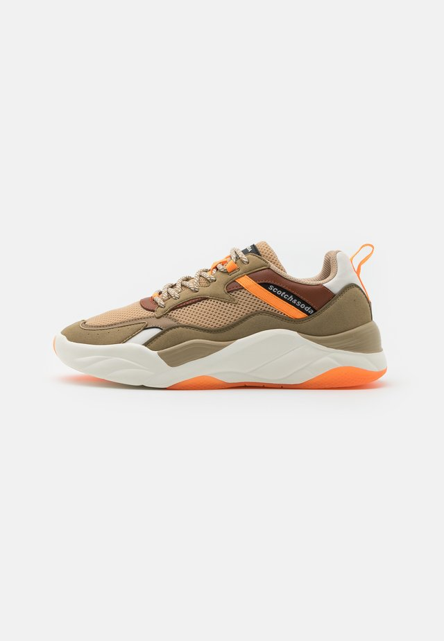 CASSIUS - Sneakers laag - sand/multicolor