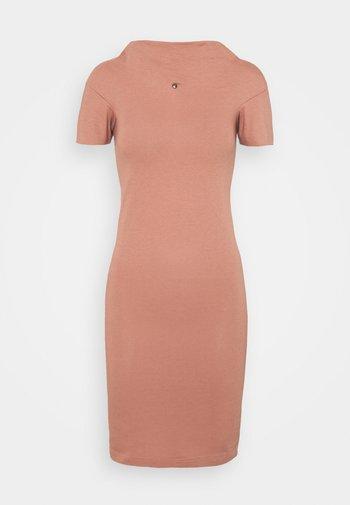 TUBE DRESS - Jersey dress - dusty pink
