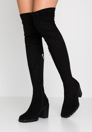 KRISS - Over-the-knee boots - black
