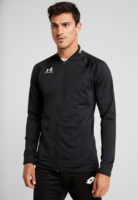 Under Armour - CHALLENGER III JACKET - Sportovní bunda - black/white - 0