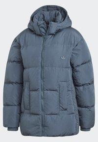 adidas Originals - WINTER REGULAR JACKET - Down jacket - legacy blue - 11