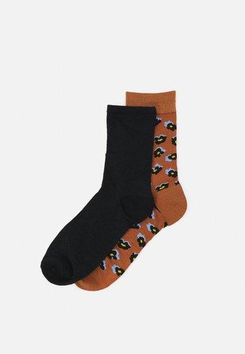 MIX SOCK 2 PACK - Socks - hazel/black