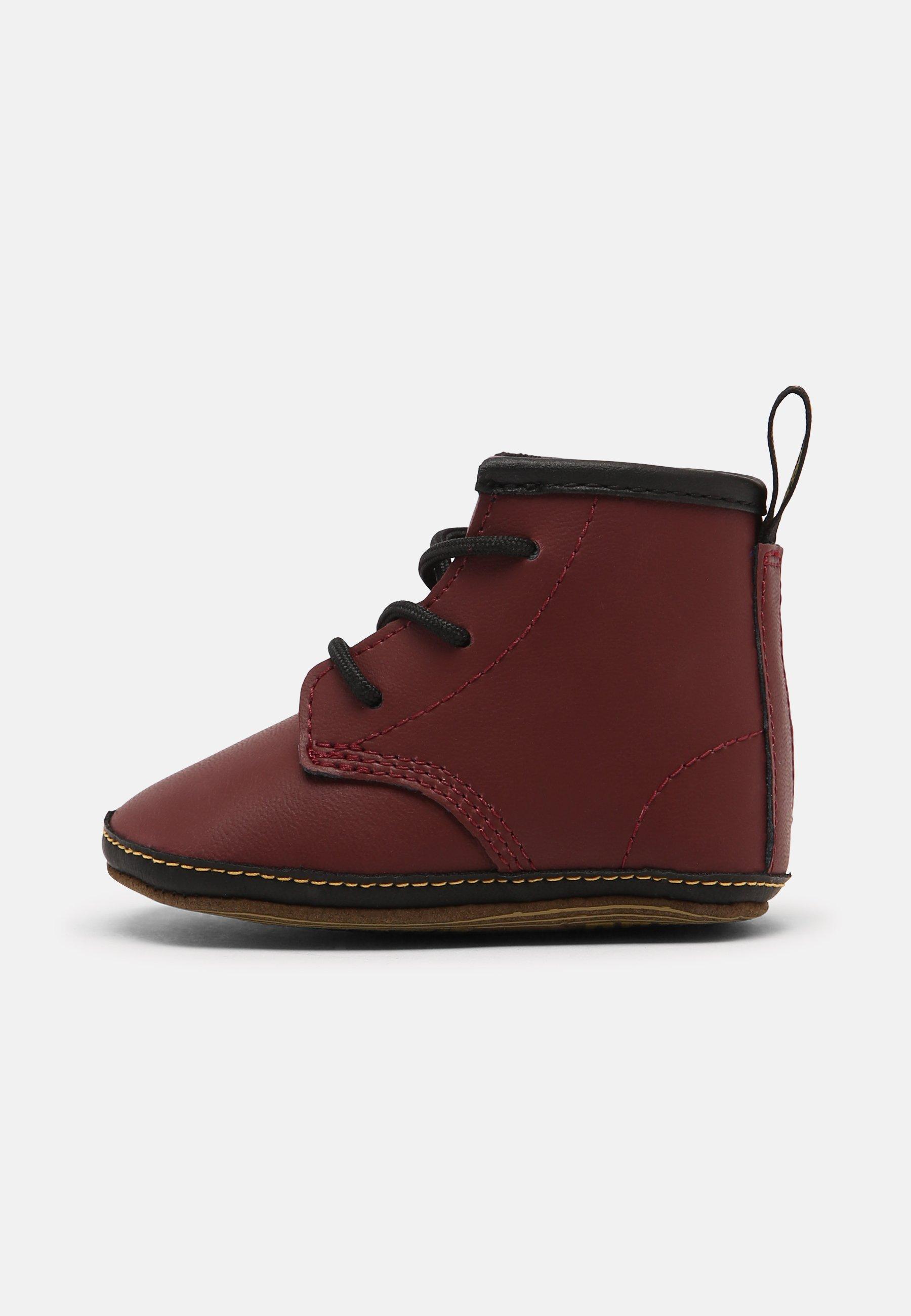 Kids 1460 CRIB - First shoes - cherry red mason