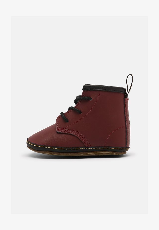 1460 CRIB - First shoes - cherry red mason