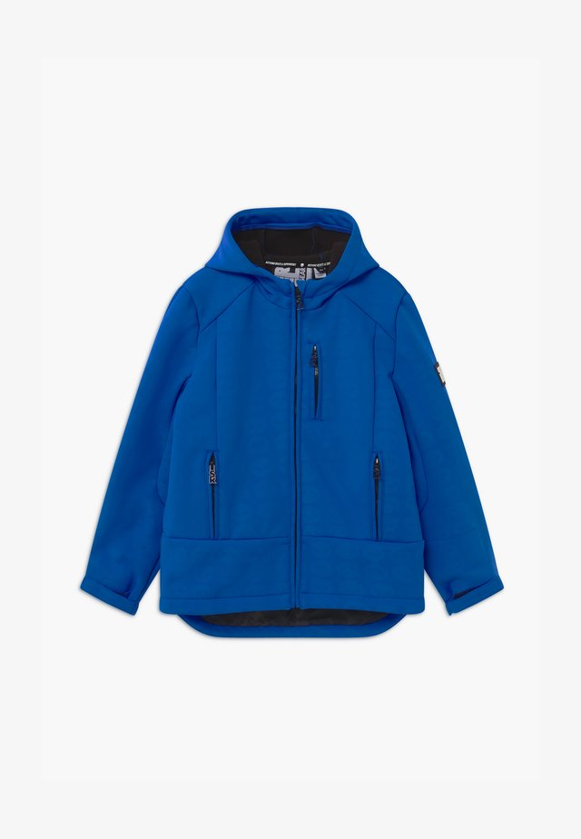 SUSTAINABLE BOYS FUNCTIONAL - Snowboard jacket - blue devil