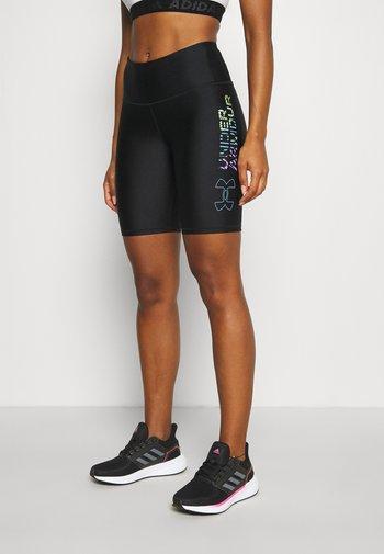 GEO BIKE SHORT - Tights - black