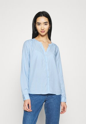 ONLSUGAR FALLOW - Blouse - blue/cloud dancer