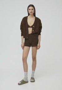 PULL&BEAR - Shorts - brown - 1