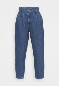ONLY - ONLPLEAT CARROW - Jeans baggy - medium blue denim - 4