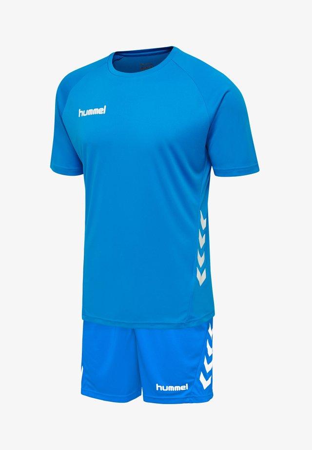 2 PIECE SET - Korte broeken - diva blue