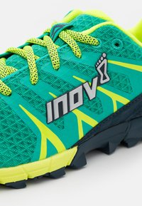 Inov-8 - TRAILTALON 235 - Trail running shoes - teal/navy/yellow - 5