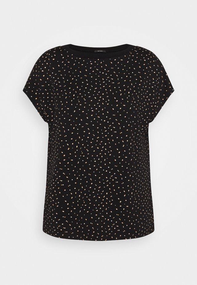 SOWERA DOT - T-shirt imprimé - black