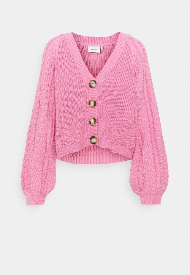 VIOLA CARDIGAN - Vest - cashmere rose