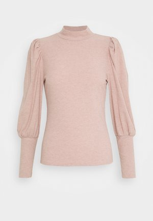 ONLTIFFANY  - Long sleeved top - mahogany/rose