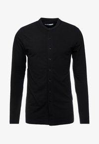 Nominal - HAMBURG GRANDAD - Shirt - black - 4