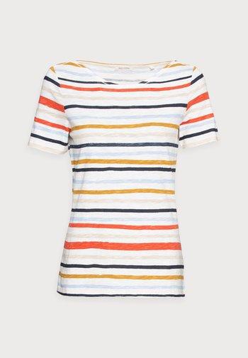 Print T-shirt - multi/rainbow yellow