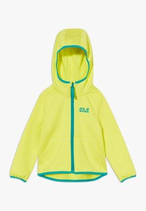 KIEWA KIDS - Fleece jacket - flashing green