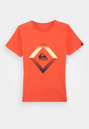 SCREEN TEE - Print T-shirt - chili