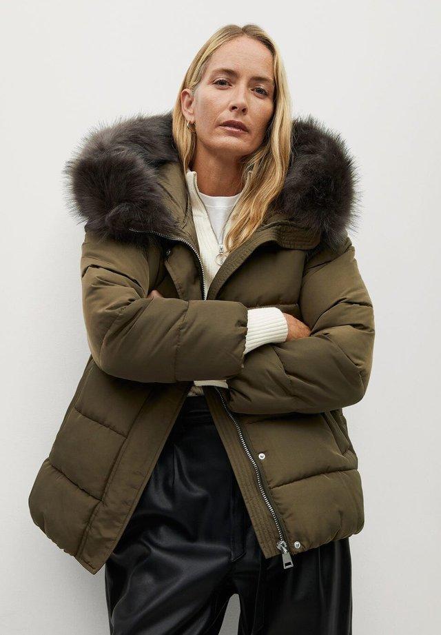 BOTANIC - Winter jacket - khaki