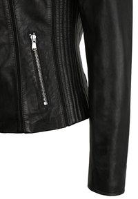 KRISS - Leather jacket - black - 4