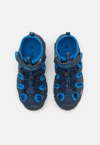 TrollKids - KIDS KRISTIANSAND UNISEX - Chodecké sandály - navy/medium blue - 3