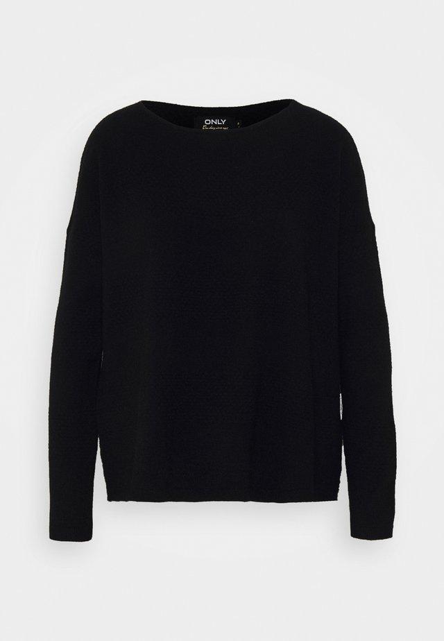 ONLBRENDA - Jersey de punto - black