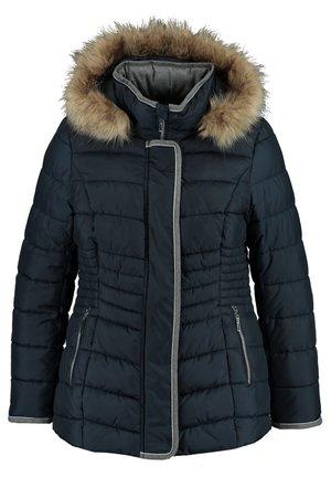 Winter coat - navy blue