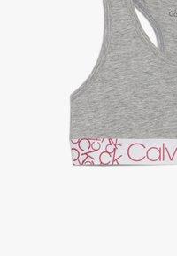Calvin Klein Underwear - BRALETTE 2 PACK - Korzet - grey - 4