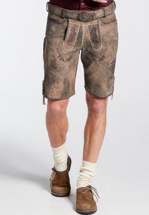NENO - Shorts - brown