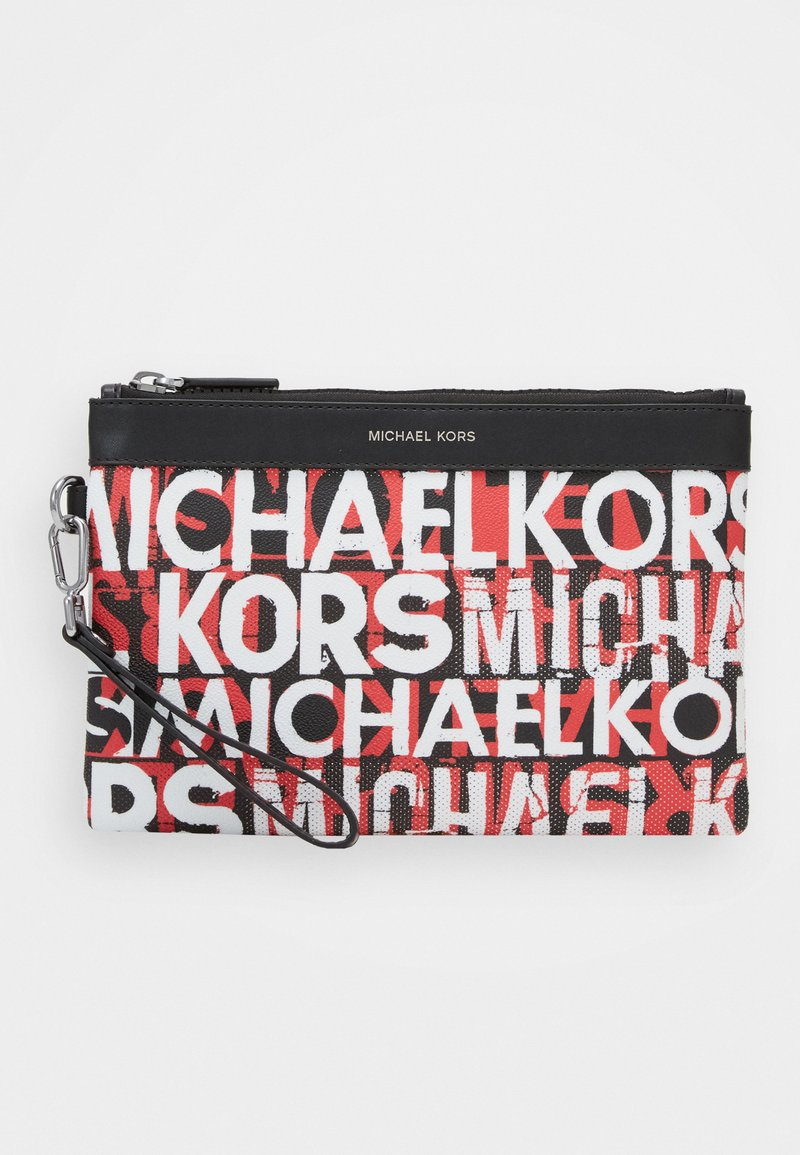 Michael Kors - FASHION ACCESSORIES TRAVEL POUCH - Trousse - black/red