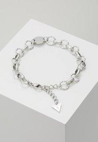 Guess - CHAIN REACTION - Bracelet - silver-coloured - 0