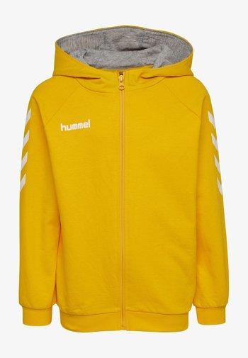Zip-up sweatshirt - sports yellow