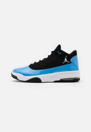 JORDAN MAX AURA  - High-top trainers - black/white/university blue