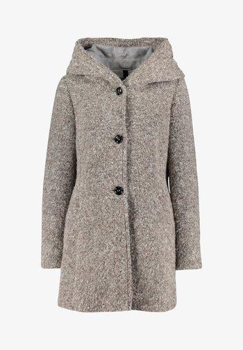 Short coat - Braun Melange
