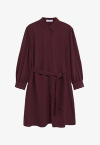 Mango - LEANDRA - Shirt dress - granátová - 5