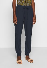 Kaffe - SILINA  - Tracksuit bottoms - midnight marine - 0