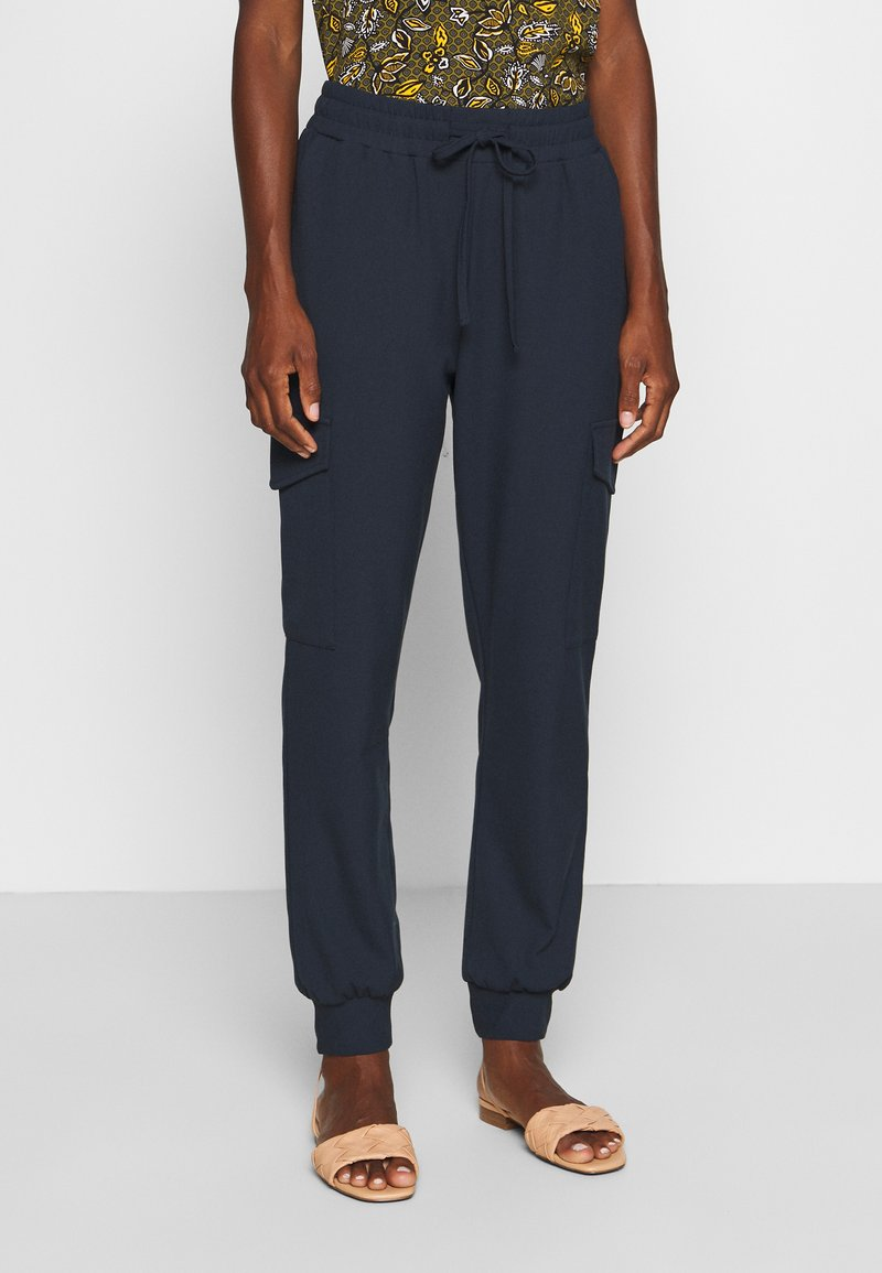 Kaffe - SILINA  - Tracksuit bottoms - midnight marine