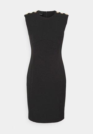 INSICURO ABITO TECNICO - Shift dress - black