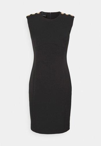 INSICURO ABITO TECNICO - Robe fourreau - black