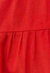 Bershka - A-line skirt - red - 5