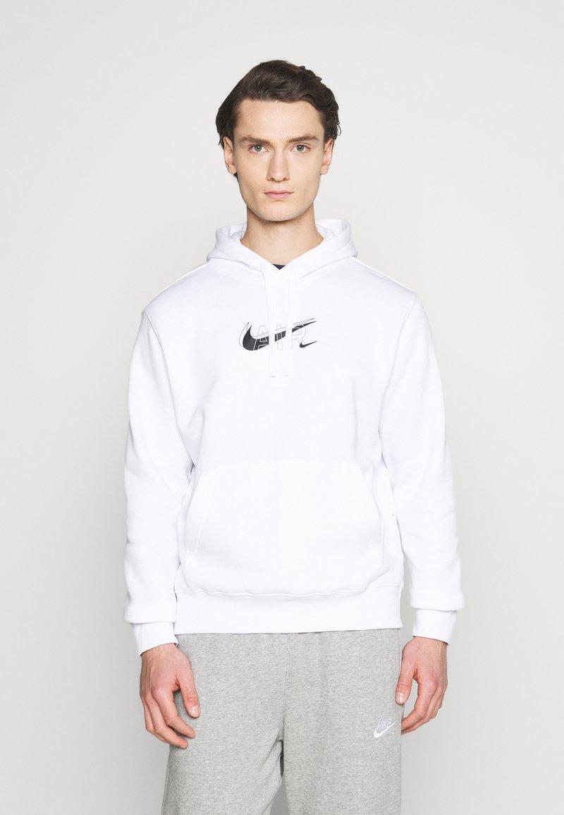 Nike Sportswear - HOODIE PO AIR  - Sweatshirt - white