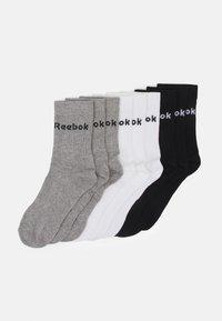 ACT CORE MID CREW SOCK 9 PACK UNISEX - Sportovní ponožky - black/white/medium grey heather