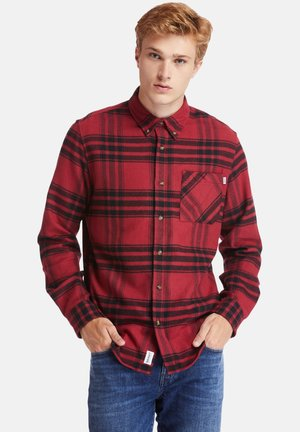 LS BACK RIVER - Shirt - rhubarb
