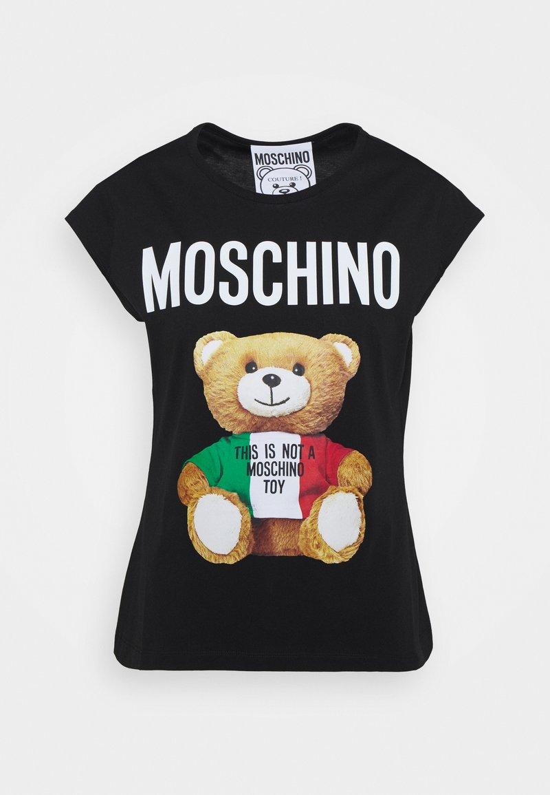 MOSCHINO - Print T-shirt - fantasy print black