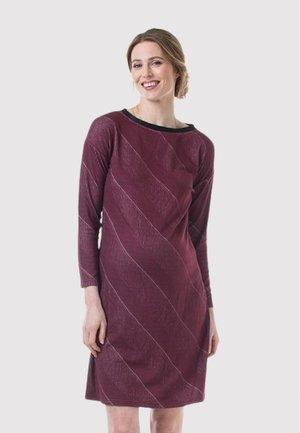 COLETTE BATEAU - Day dress - maroon