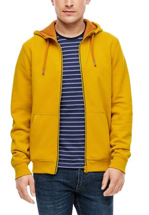 LANGARM - Sweatjacke - yellow