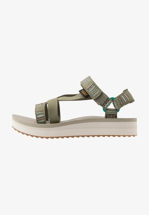 MIDFORM ARIVACA WOMENS - Walking sandals - burnt olive