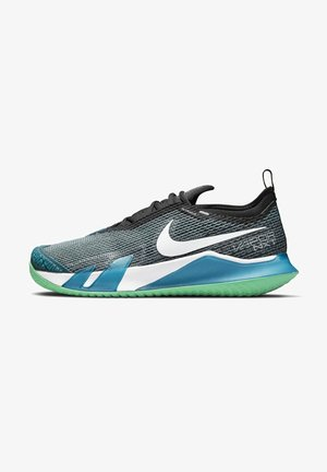 VAPOR NXT - Multicourt tennis shoes - dark teal green/black/green glow/white