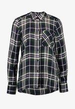 ONYNADIA CHECK - Button-down blouse - ponderosa pine/black