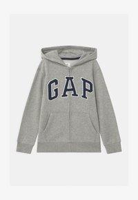 GAP - BOYS ARCH HOOD - Zip-up hoodie - light heather grey - 0